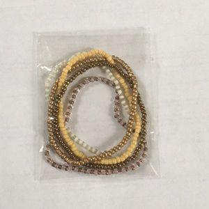 FREE NWOT Set of 5 bracelets from Khols